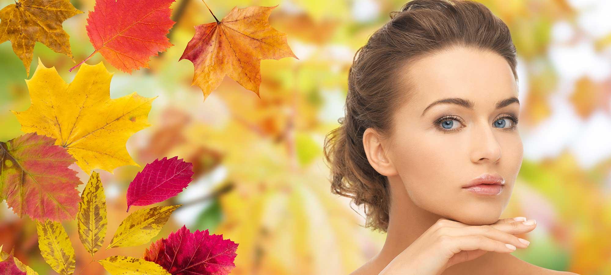 Hautpflege im Herbst – Aiyasha-Spa